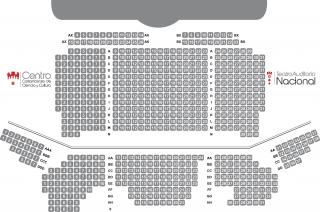 Asientos Teatro Auditorio Nacional