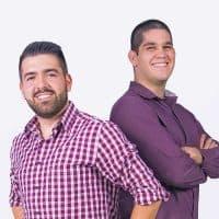 Jaime Mora y José Asenjo